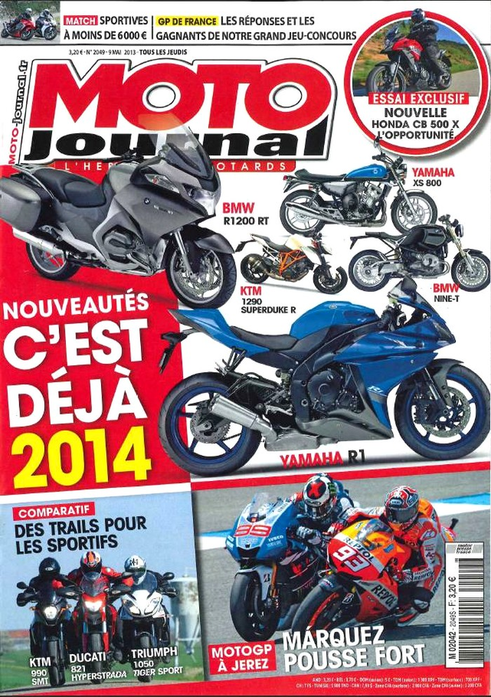 Moto Journal 9 mai 2013