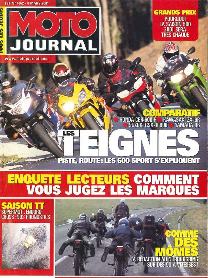 Moto Journal 8 mars 2001