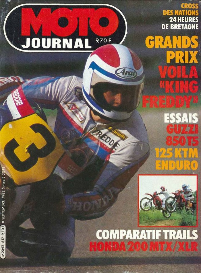 Moto Journal 8 septembre 1983