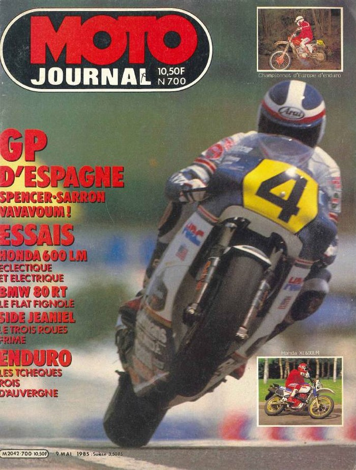 Moto Journal 9 mai 1985