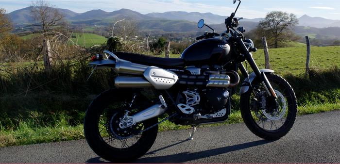 Triumph Scrambler 1200 XC, le trail naturiste 9