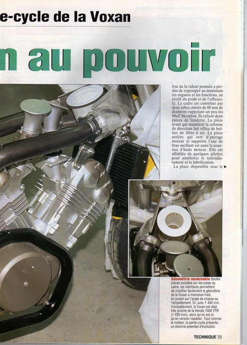 Voxan Moto Journal 19/12/1996