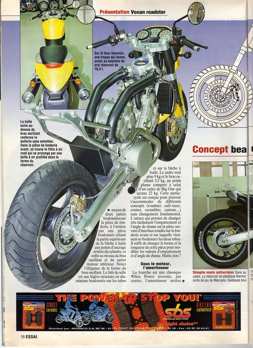 Voxan moto journal 12/06/1997