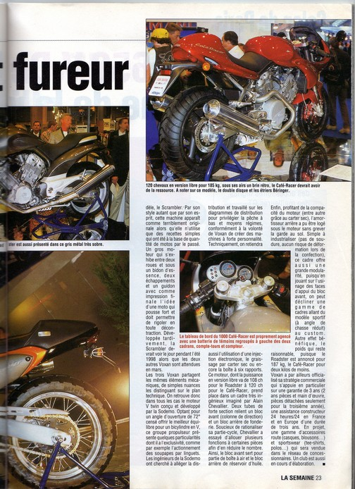 Voxan Moto Journal 02/10/1997