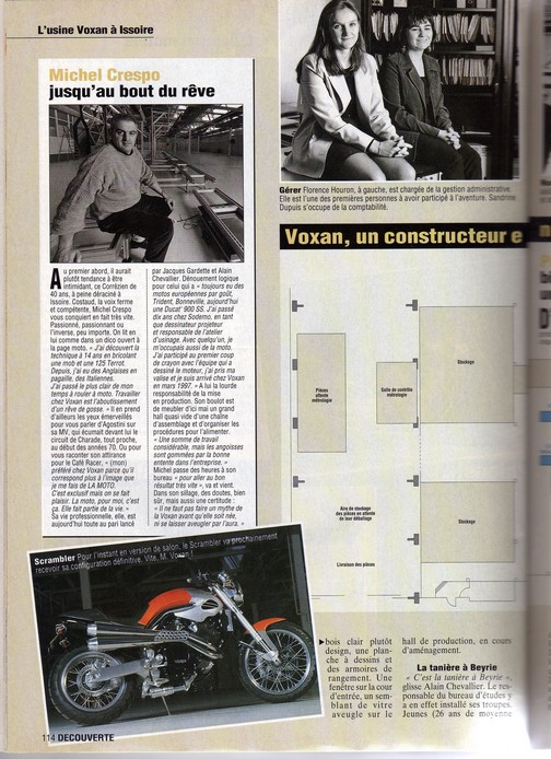 Voxan Moto Journal 1998