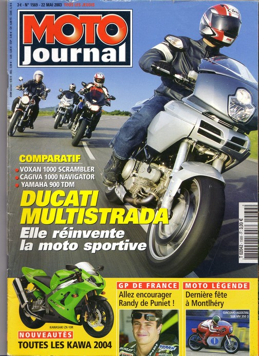 Voxan Moto Journal 22 mai 2003