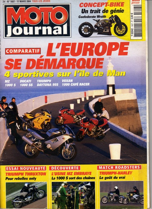 Voxan Moto Journal 11 mars 2004