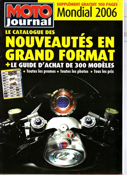 Voxan Moto Journal Mondial 2006
