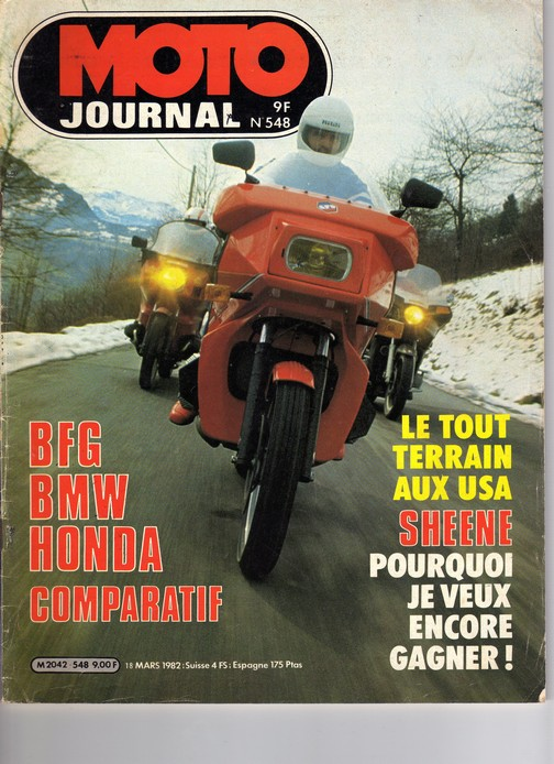 Voxan Moto Journal 18/03/1982