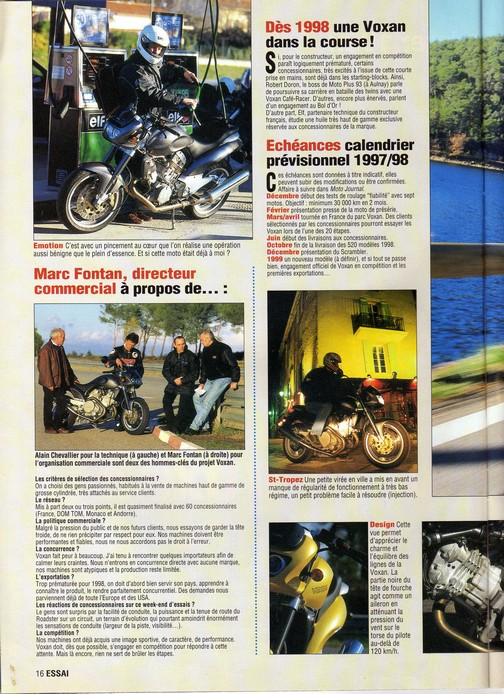 Voxan Moto Journal 04/12/1997