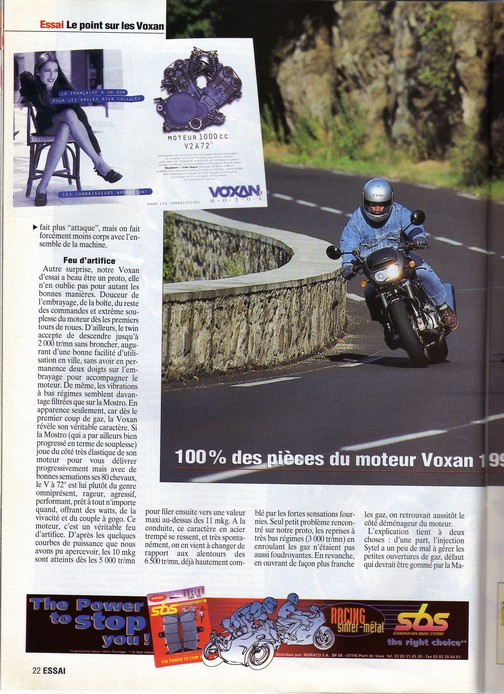 Voxan Moto Journal 03/09/1998