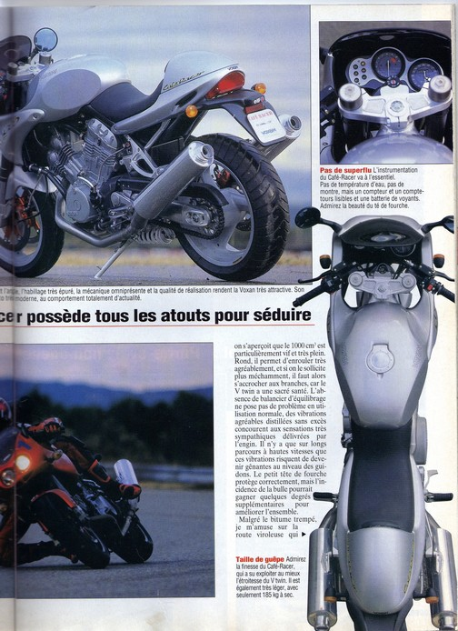 Voxan Moto Journal 10/12/1998