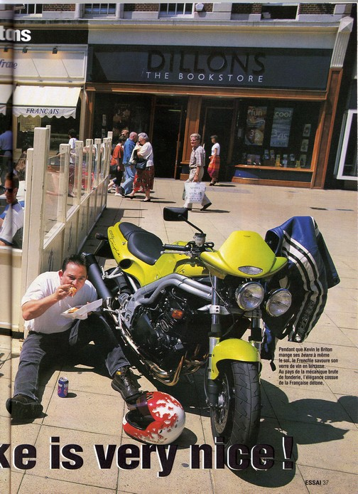 Voxan Moto Journal 22/07/1999