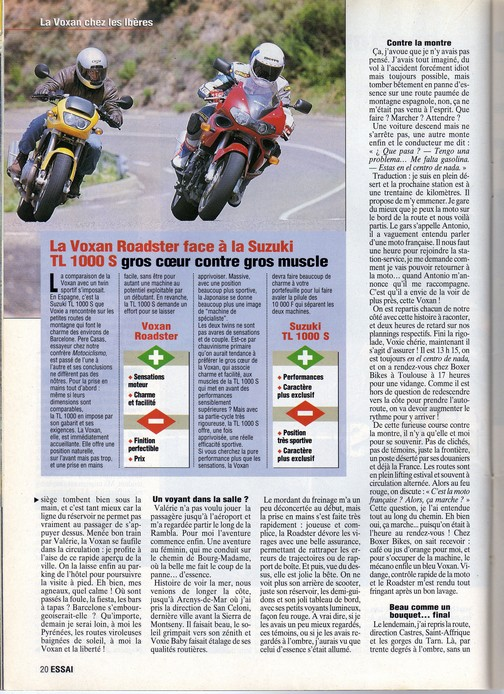 Voxan Moto Journal 02/09/1999