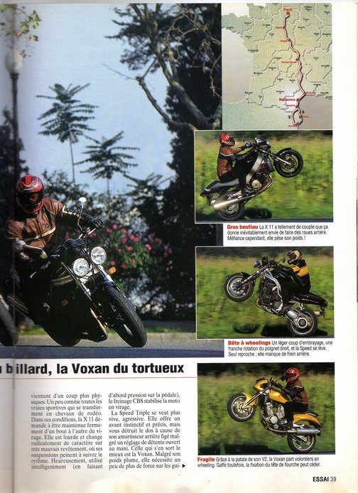 Voxan Moto Journal 14/10/1999