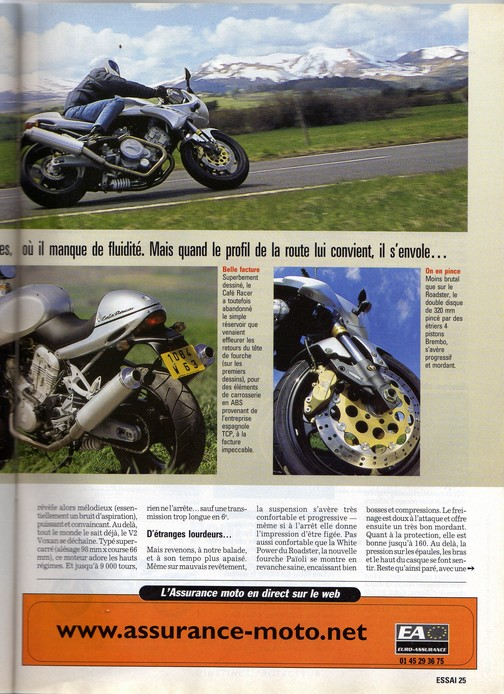 Voxan Moto Journal 27/04/2000