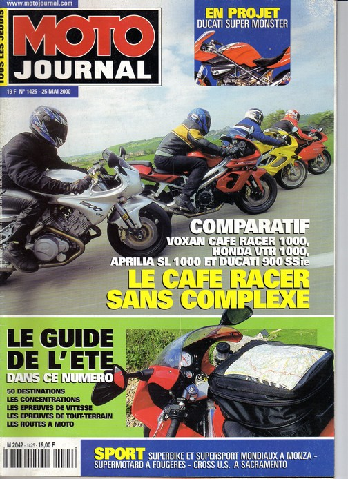 Voxan Moto Journal 25/05/2000