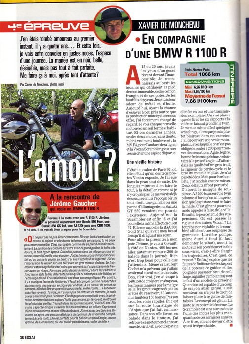 Voxan Moto Journal 14/06/2001
