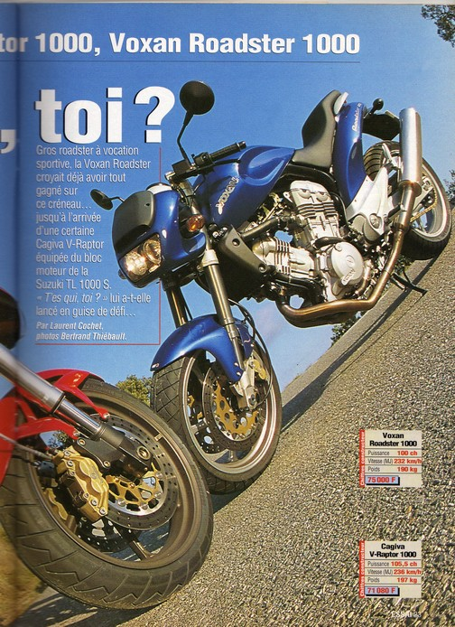 Voxan Moto Journal 09/03/2000