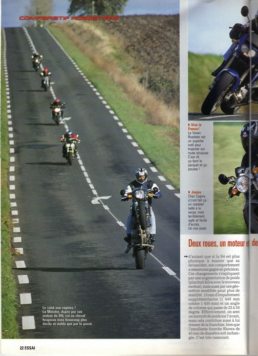 Voxan Moto Journal 16/11/2000