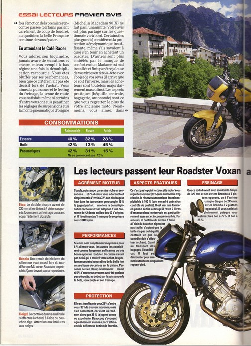 Voxan Moto Journal 12/10/2000