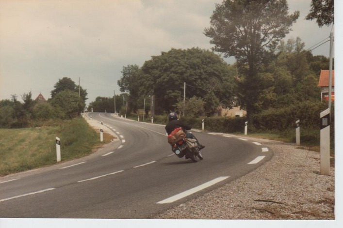 Honda 125 Cg Route du Lot