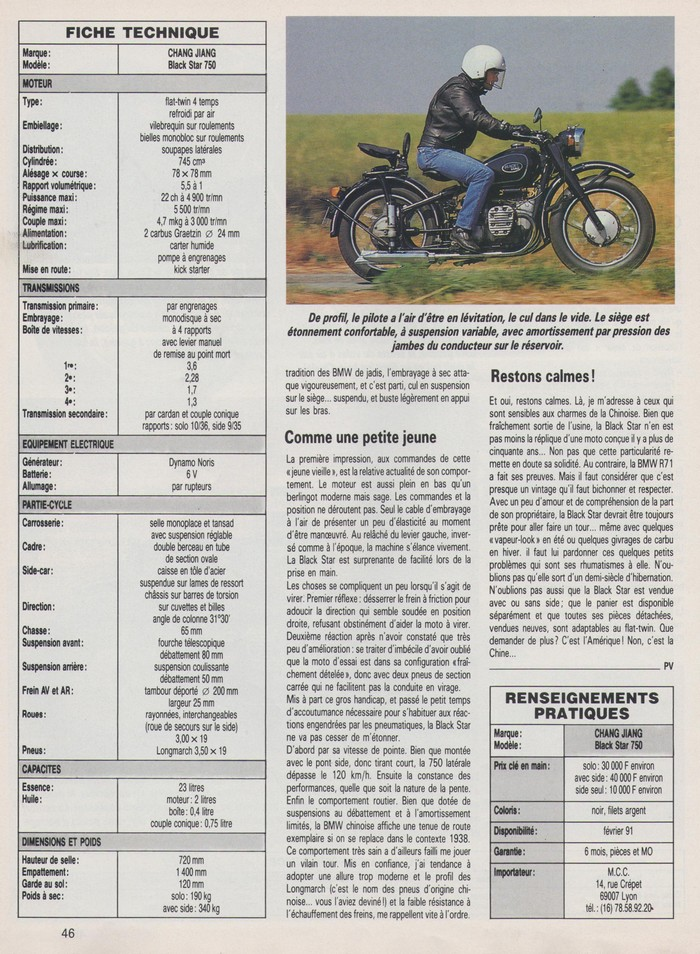Moto Journal 6 septembre 1990