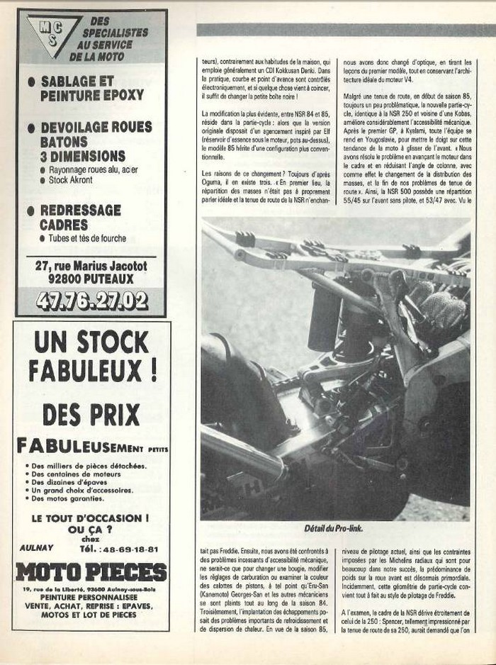 Moto Journal 6 mars 1986